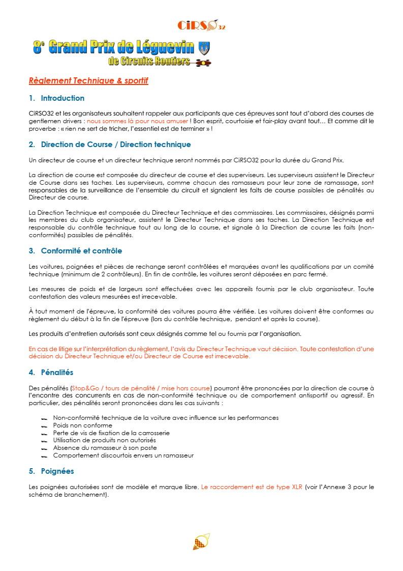 GPL 2020 (Grand Prix de Leguevin) Le programme complet P09