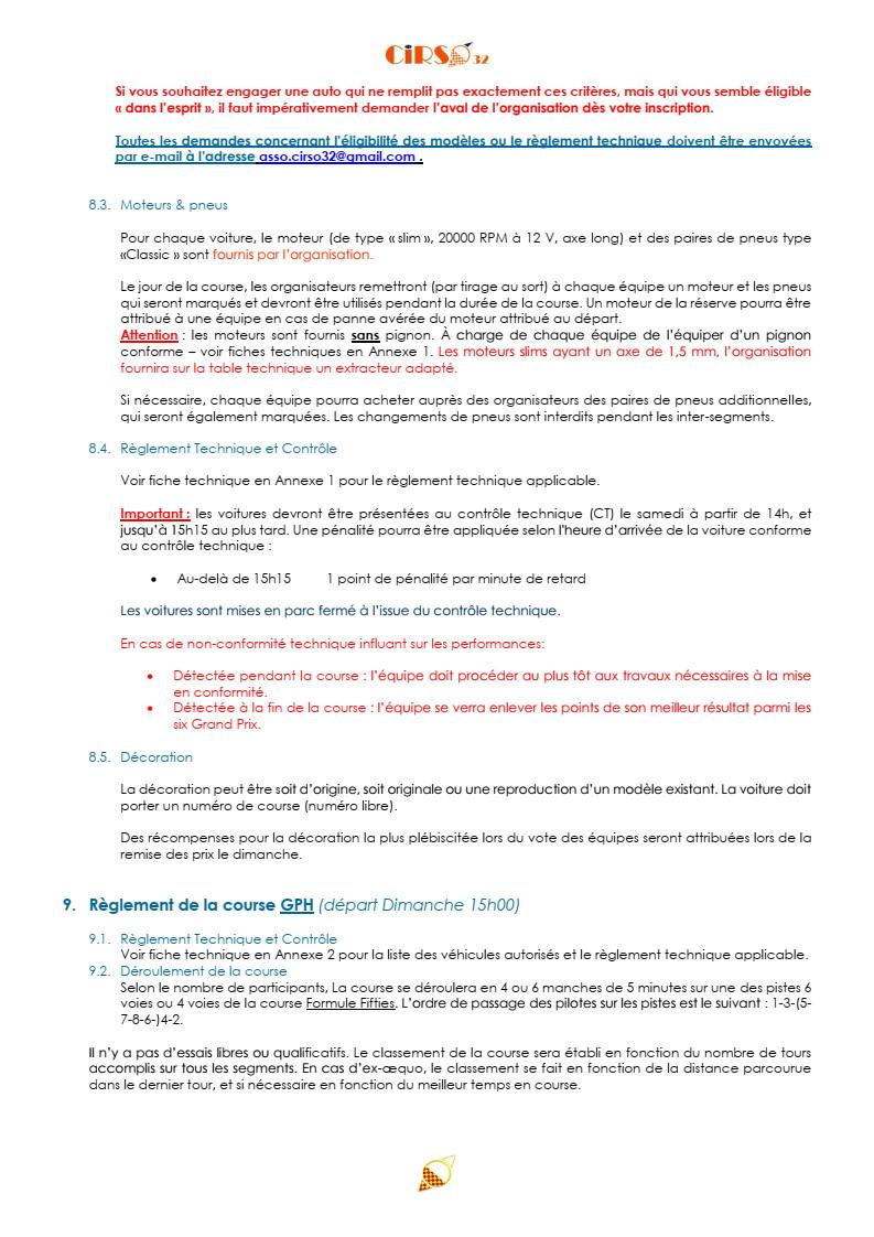 GPL 2020 (Grand Prix de Leguevin) Le programme complet P12