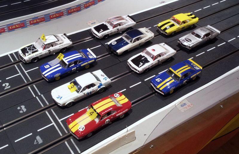 Transam - Course 50 - 18 septembre 2012 - Les V8 entrent en scène Plateau